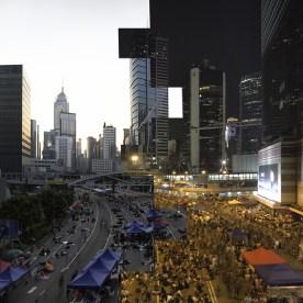 Ground Zero of the Umbrella Movement ©Ryan Moore