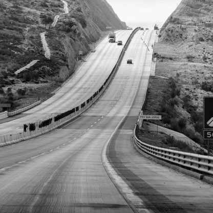 Autopista San Jose ©Owen Murphy The sinuous nature of this highway just grabbed me in a way that roads rarely do since how often do we find beauty in concrete and steel.