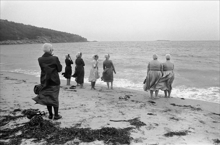Indiana Mennonites 1st View of Ocean