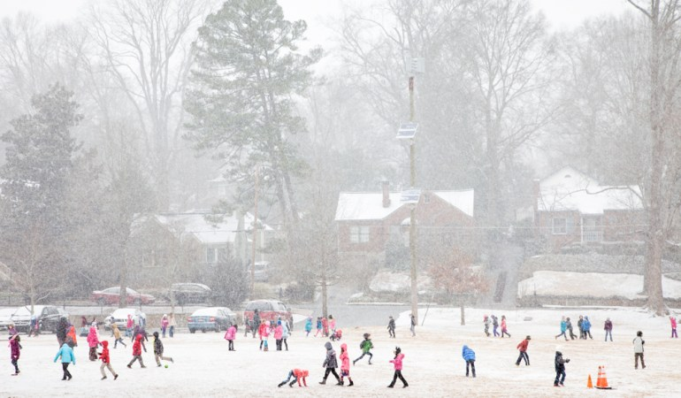 First Decatur Snow, 2014 | Beate Sass