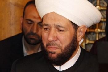 مفتي النظام أحمد حسون