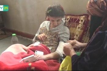 عائلة سوريّة من ريف درعا تعاني ويلات النزوح