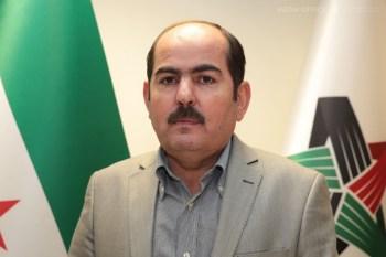 رئيس الائتلاف الوطني لقوى الثورة والمعارضة السورية عبد الرحمن مصطف