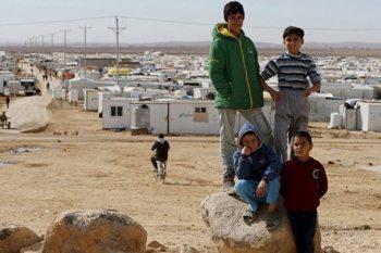اللاجئين السوريين في الأردن