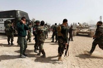 قامت قوات النظام السوري وحلفائه بشن حملة اعتقالات واسعة طالت عشرات المدنيين من أهالي مدينة سقبا في الغوطة الشرقية بريف مدينة دمشق، وذلك بعد انسحاب