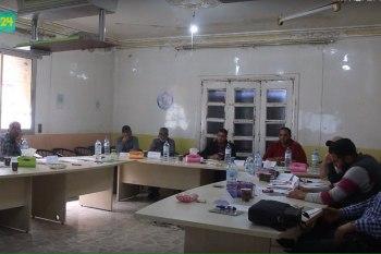"""لجنة """"إعادة الاستقرار"""" تقيم سلسلة دورات للمجالس المحلية في ريف حلب"""