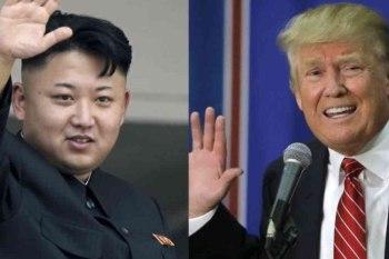 الرئيس الأميركي دونالد ترامب وزعيم كوريا الشمالية كيم يونغ-أون
