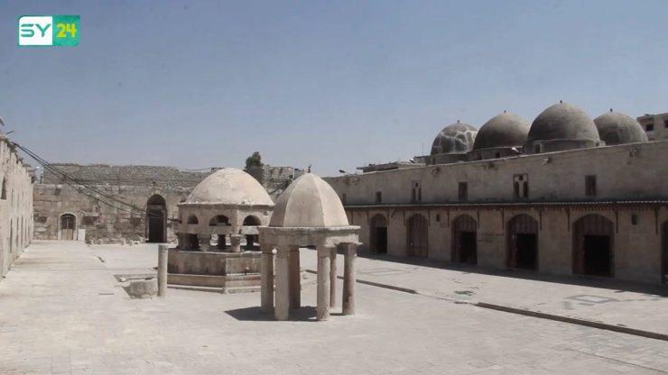 المسجد الأثري في معرة النعمان بريف إدلب