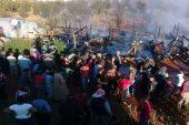 اندلاع حريق داخل مخيم للاجئين السوريين في لبنان