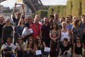 """مكسيم خليل يعلن الانتهاء من تصوير المسلسل الفرنسي الألماني """"إيدن"""""""