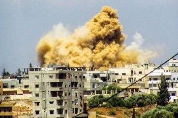 قتلى وجرحى في صفوف النظام بانفجار ألغام في درعا