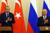أردوغان وبوتين يبحثان ملف اللجنة الدستورية السورية