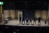 عرض مسرحي لتوعية الأطفال من مخاطر السمنة في إدلب