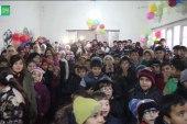 """إطلاق حملة """"عيش الدفا"""" لكسر برد الأطفال النازحين في مخيمات جسر الشغور"""