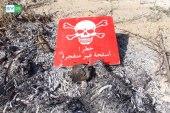 مخلفات القصف تشكل خطراً على المزارعين في ريف اللاذقية