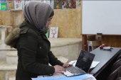 في حلب.. فتاة تنمي موهبتها بالإصرار والاجتهاد