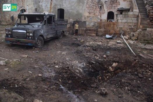 قصف مدفعي للنظام على بلدة في ريف إدلب