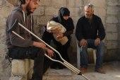 حسين رزوق نازح منعته الإصابة من إعالة أسرته