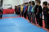 مركز رياضي جديد من نوعه يعلم الفنون القتالية للتايكواندو في الشمال السوري