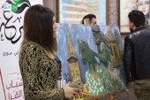 افتتاح معرض للرسم بمشاركة 17 طالبة في عفرين