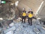 النظام يقتل طفلين توأمين بغارة جوية على معرة النعمان بريف إدلب