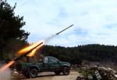 الجبهة الوطنية للتحرير تعلن استهداف مطار حماة العسكري بصواريخ الغراد
