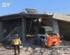 مجزرة مروعة ارتكبتها طائرات النظام راح ضحيتها 13 مدنيا من أهالي بلدة بينين جنوب إدلب