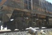 عبوة ناسفة تستهدف قطار للنظام في حمص