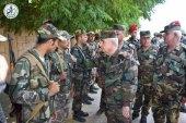 وزير الدفاع في حكومة النظام السوري يزور ريف إدلب الجنوبي!