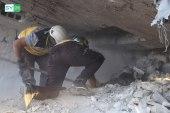 الأطفال ضحايا القصف الصاروخي على معرة النعمان وحاس بإدلب