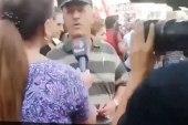 متظاهر لبناني يكشف عن حجم النفاق الذي تعرض له الشعب السوري (فيديو)