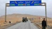 دون تفتيش.. شاحنات عراقية تدخل سوريا وتسلم حمولتها لأخرى إيرانية