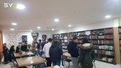 طلاب جامعة حلب الحرة يجمعون 7 آلاف كتاب في مكتبة واحدة