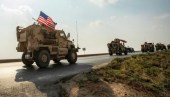 20 شاحنة أمريكية تعبر الحدود العراقية باتجاه سوريا وتتمركز في الحسكة