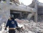قصف مكثف للنظام وروسيا على ريف حلب الغربي.. وحركة نزوح كبيرة تشهدها المنطقة