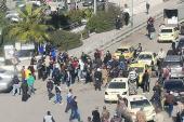 """بسبب """"ثورة الجياع"""".. زعيم ميليشيا موالية للأسد يهدد بقتل السوريين"""