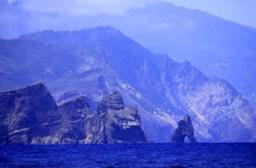 Ansteuerung Madeira von Porto Santo kommend