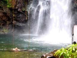 """Dritter Wasserfall mit """"Planschbecken"""""""
