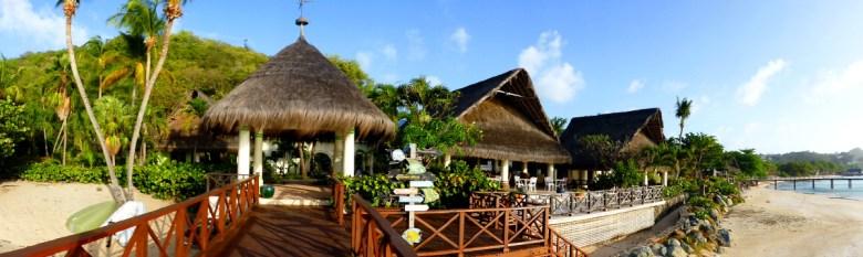 Tamarind Beach Hotel Hintereingang