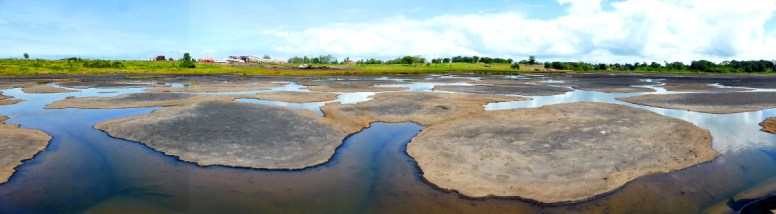 Natur-Asphaltsee in Trinidad