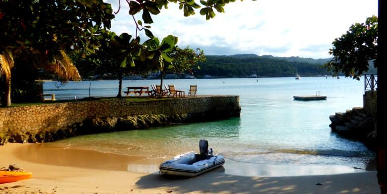 Steve´s Strandhaus und Privatstrand