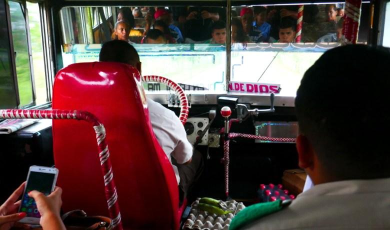 Linienbus nach Portobelo