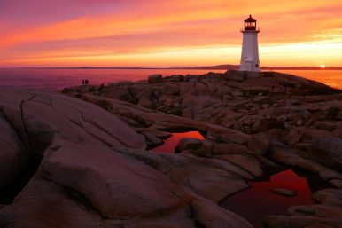 Leuchtfeuer Peggy's Cove
