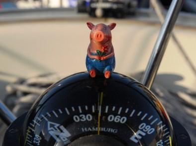 Gustav navigiert