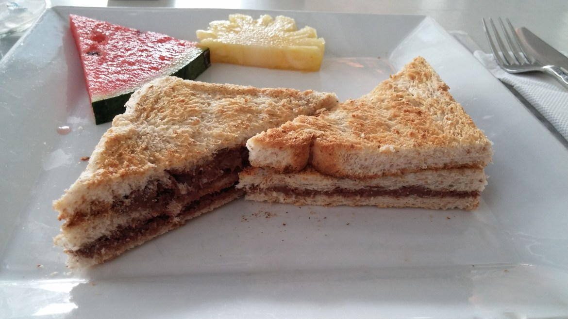 Panini Nutell With Banana