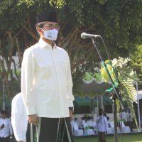 Bupati Bangkalan Pimpin Apel Akbar Hari Santri Nasional
