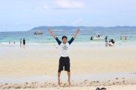 Bermain di Pantai tien Pulau Koh Larn