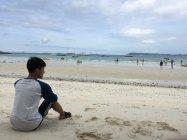 Santai di Tien Beach