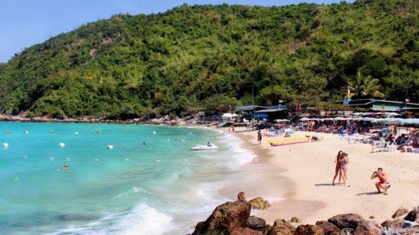 Pantai Thong Lang, Pulau Koh Larn