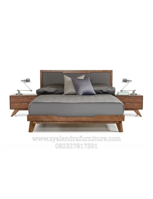 Tempat Tidur Minimalis Sandaran Jok Modern